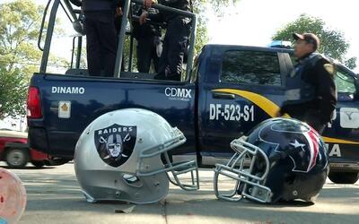 Así fue el ambiente del Estado Azteca para el partido Texans vs. Raiders...