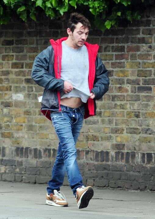 Jonathan Rhys Meyers borracho