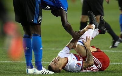 Mala noticia para Toronto FC: Sebastian Giovinco será baja por 4 semanas.
