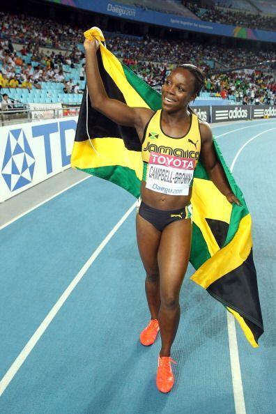 La jamaicana Verónica Campbell, derrotada por la estadounidense C...