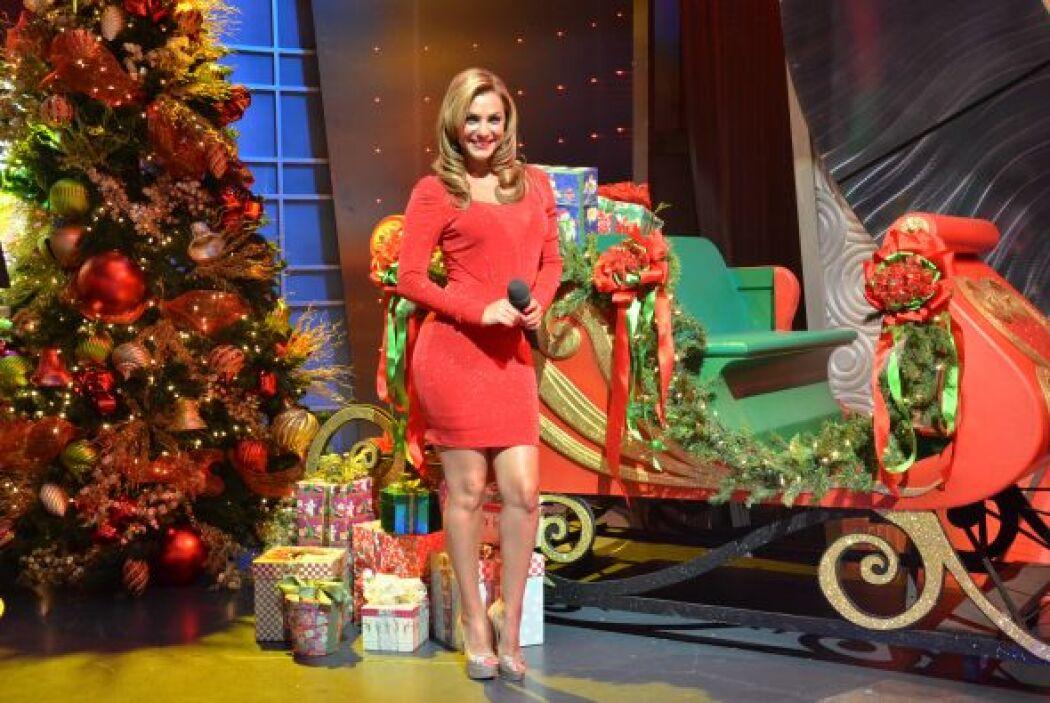 Rosina Grosso también encontró el trineo de Santa estacionado y con todo...