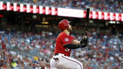 Harper se voló la barda.