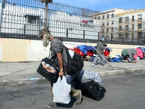 La pobreza en la mayor economía del mundo sigue estando lejos de...