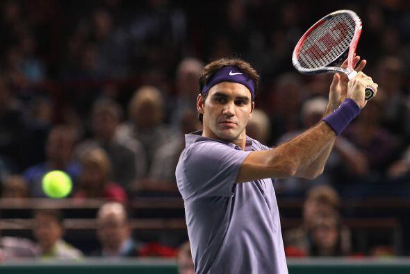 El segundo sembrado es el suizo Roger Federer.