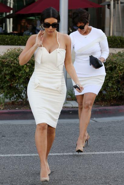 Después de la fiesta, Kim y mami Kris se dirigieron a ir de compras. ¿Se...