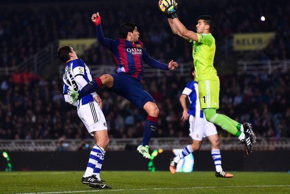 El gol de la diferencia cayó en un autogol de Jordi Alba en el comienzo...