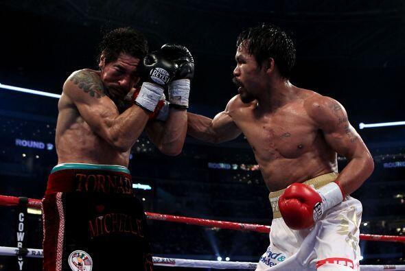 Sin duda, Pacquiao demostró ser el mejor boxeador libra por libra...