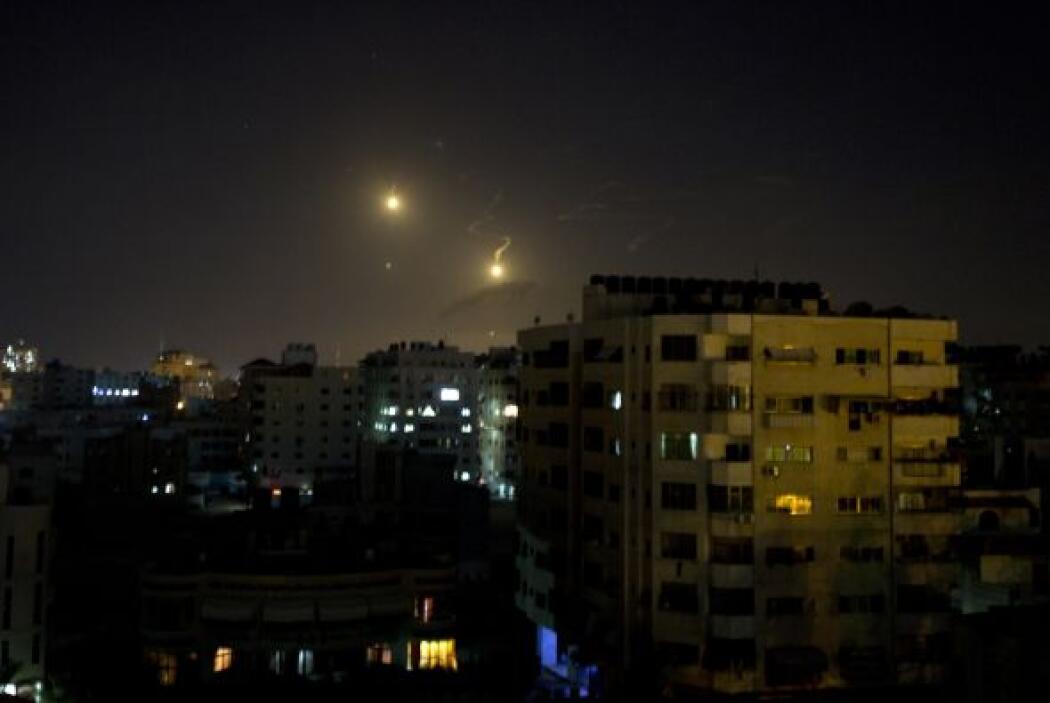 Israel dijo que las advertencias dan un margen de cuatro minutos antes d...