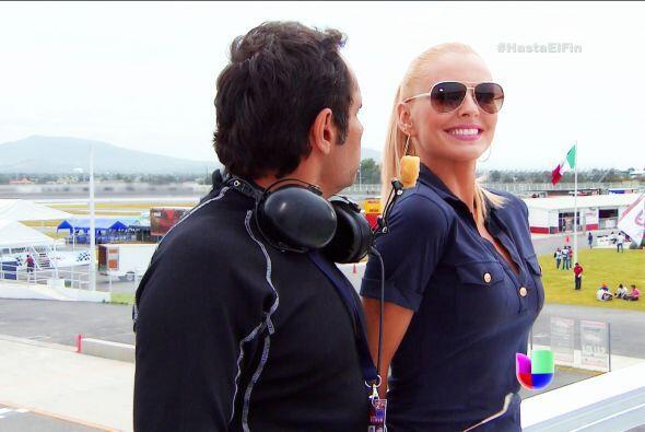 Lo estás logrando, Sofía está súper emocionada. La adrenalina de las car...