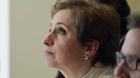 La periodista mexicana Carmen Aristegui. (Imagen de Archivo).