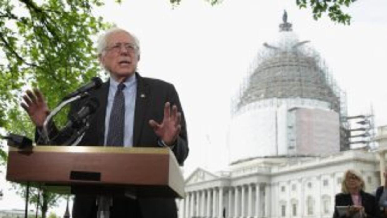 Bernie Sanders lanzó una campaña marcadamente de izquierda por la candid...