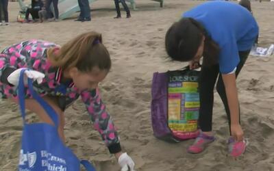Más de 4,000 estudiantes participan del Kids Ocean Day en las playas de...