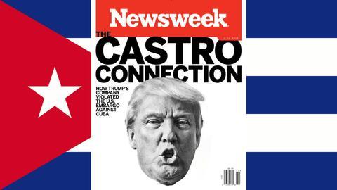 Según Newsweek, una empresa de Trump violó el embargo