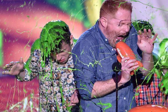 """¡Pero también los bañaron en """"slime""""!"""