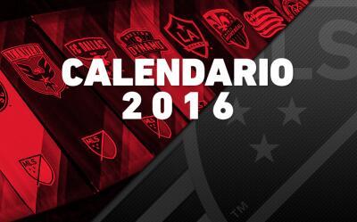 Calendario 2016 de la MLS