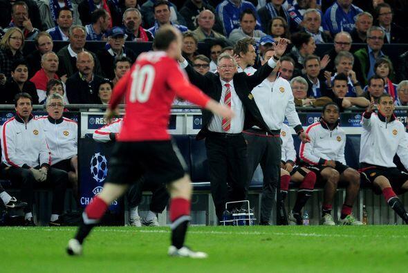 Sir Alex Ferguson le pedía a sus jugadores que insistieran en ataque.