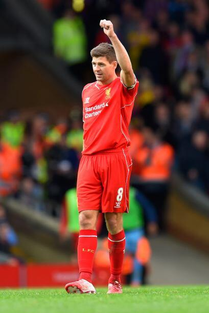 Steven Gerrard dice adiós al Liverpool con más de 700 partidos jugados c...