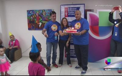 Alegría y sonrisas para niños con cáncer