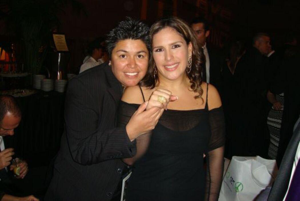 Elena Jiménez fue la encargada de diseñar los anillo de matrimonio de la...