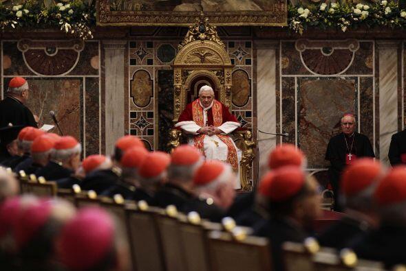 El líder de la iglesia católica afirmó que la pedof...