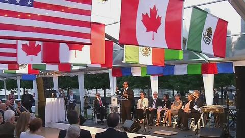 """México y Canadá son reconocidos como """"buenos vecinos"""" de EEUU"""