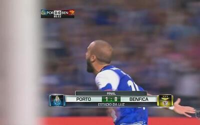 Porto 1-0 Benfica: Los dragones se llevan el clásico luso