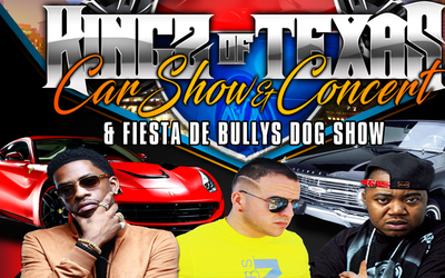 Kingz of Texas Car Show & Concert at Rosedale Park - June 11, 2017