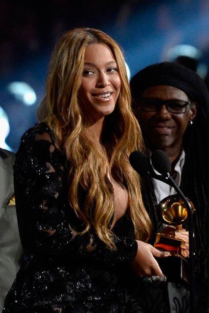 'Queen B' no dejó de agradecer a su público y también dio las gracias a...