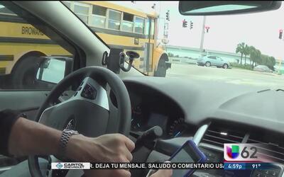 La iniciativa que prohibiría a conductores utilizar dispositivos móviles...
