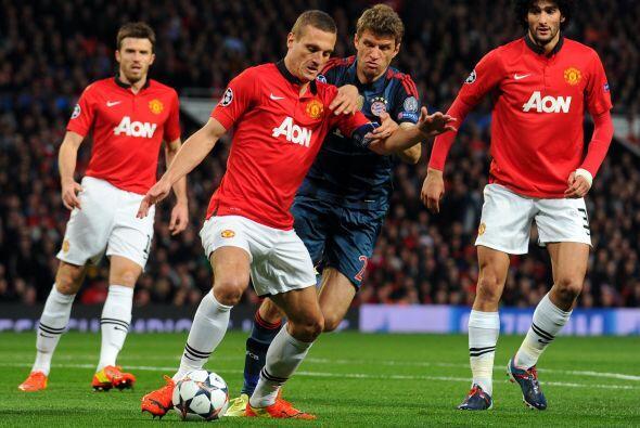 El United pareció tener mayor orden a comparación de sus &...