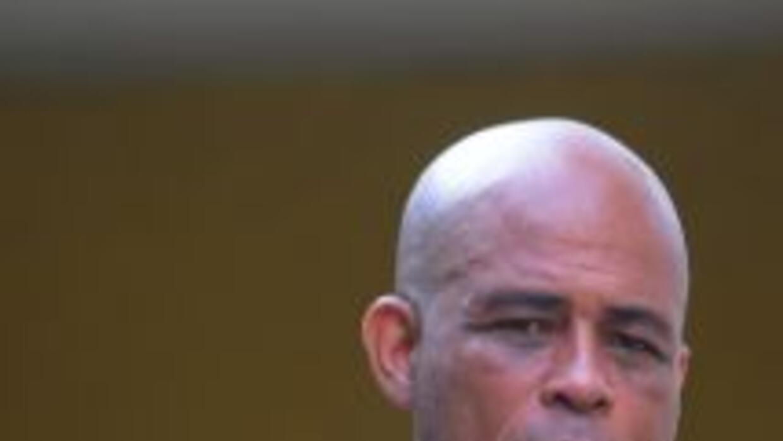 """Michel """"Sweet Micky"""" Martelly, un popular músico que no ha tenido cargos..."""