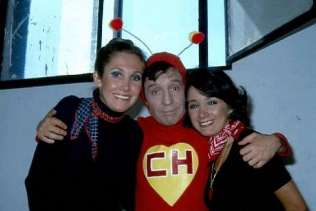 Chespirito también contó con un gran equipo de soporte que lo acompañó d...