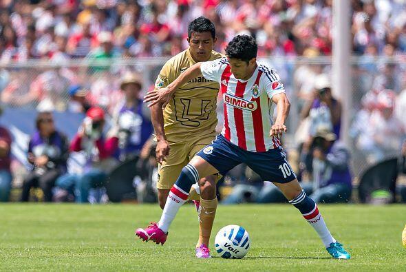 Ángel Reyna fue bajando su ritmo y calidad de juego con el pasar de los...
