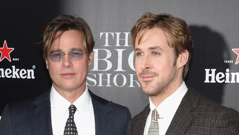 Ryan Gosling y Brad Pitt protagonizan la película.