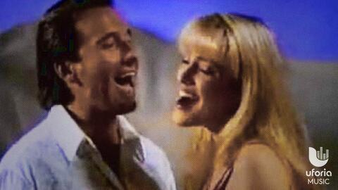 Ricardo Montaner y Michelle en el mundo ideal de los 90.