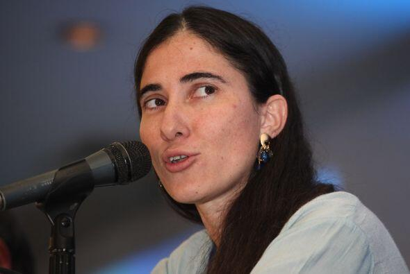 La disidente cubana Yoani Sánchez pidió el jueves a la Org...