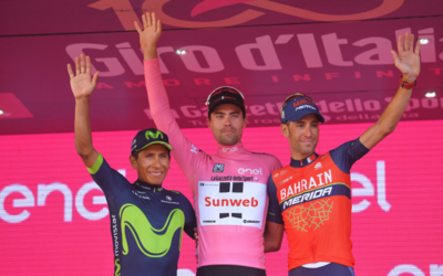 Podio del Giro de Italia