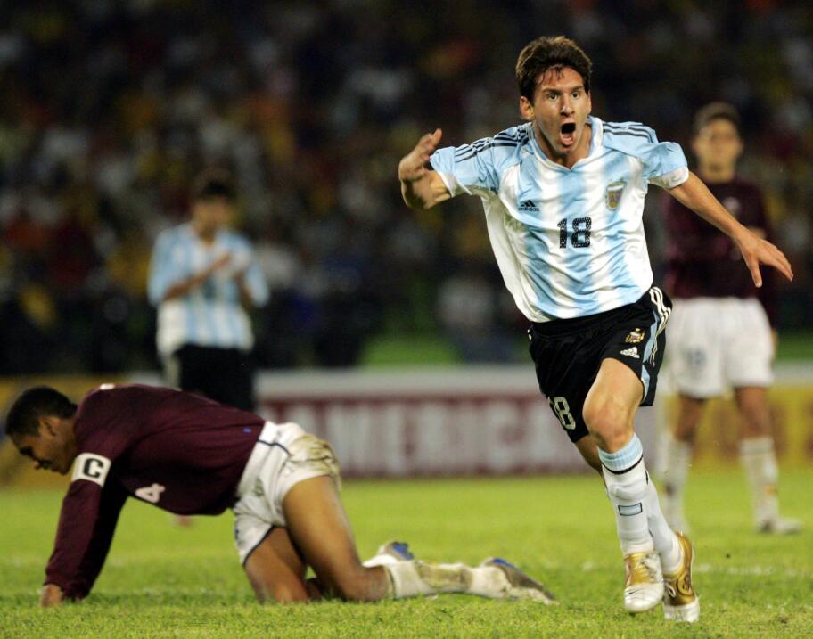 Messi, una década con la selección argentina