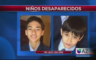 Se buscan a dos niños desaparecidos