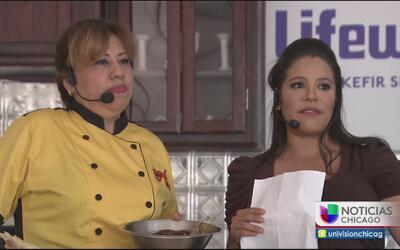 Gran participación de Ericka Pino en Taste of Chicago