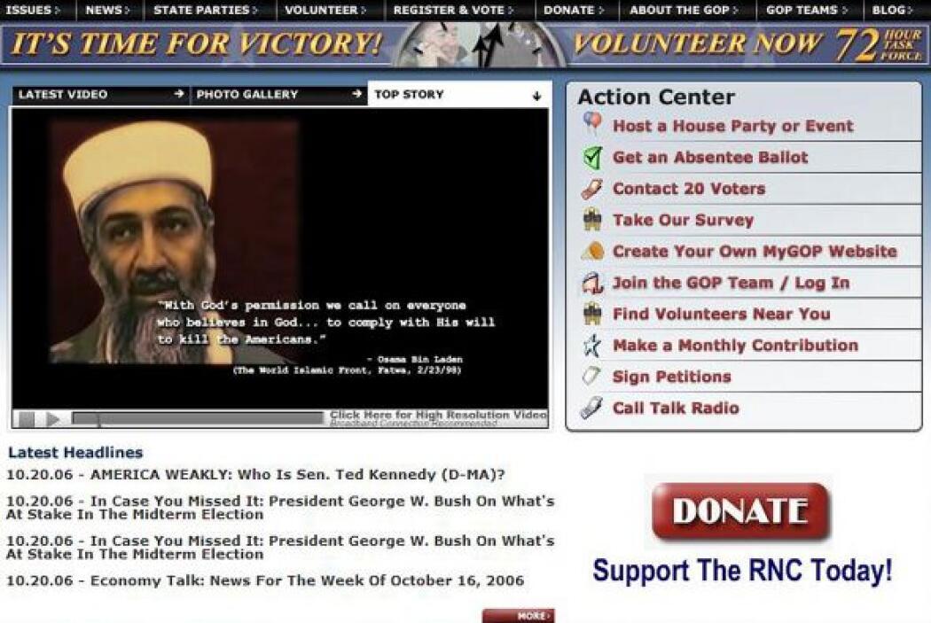 La red terrorista Al Qaeda  confirmó la muerte de su líder Osama bin Laden.