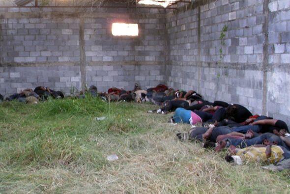Además comentaron que Los Zetas los interceptaron en su camino a Estados...