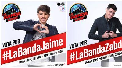 Votación boricuas en La Banda