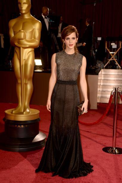 Muy elegante y sofisticado lució Emma Watson gracias a este Vera...