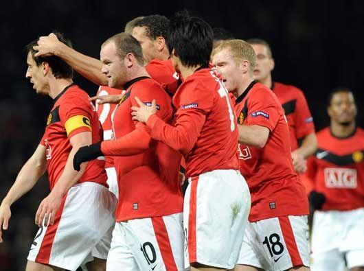 En otro encuentro de octavos de final, el Manchester United le dio un pa...