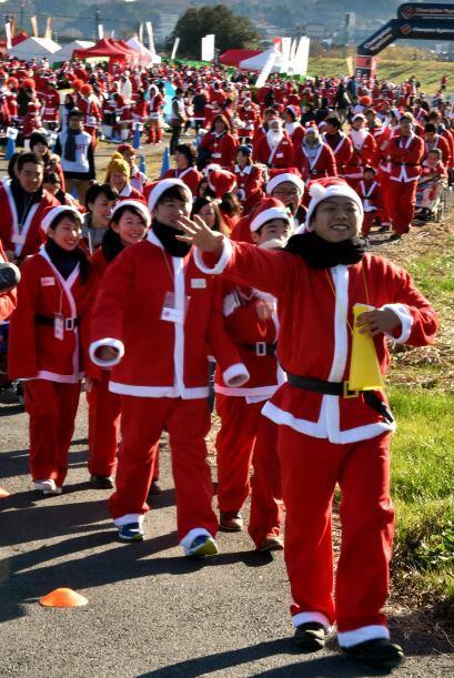 Las risas entre los Santas nunca faltó, jo, jo, jo.