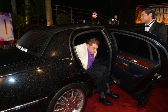 El Don fue el más esperado de la noche.