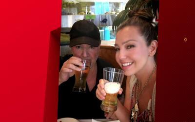 SYP Al Instante: Thalía rompe la dieta por amor y su esposo sigue babead...