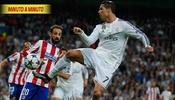 Sigue al instante Atlético vs. Real Madrid