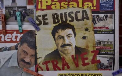 Se busca a Joaquín El Chapo Guzmán.